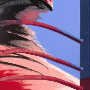 Adam Neate limited edition print. Dimensional surface edition. for sale . Elms Lesters